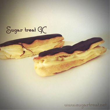 Chocolate Eclairs ($42 for 12)