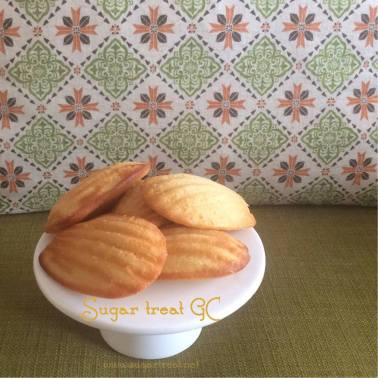 Madeleines ($28 for 24)