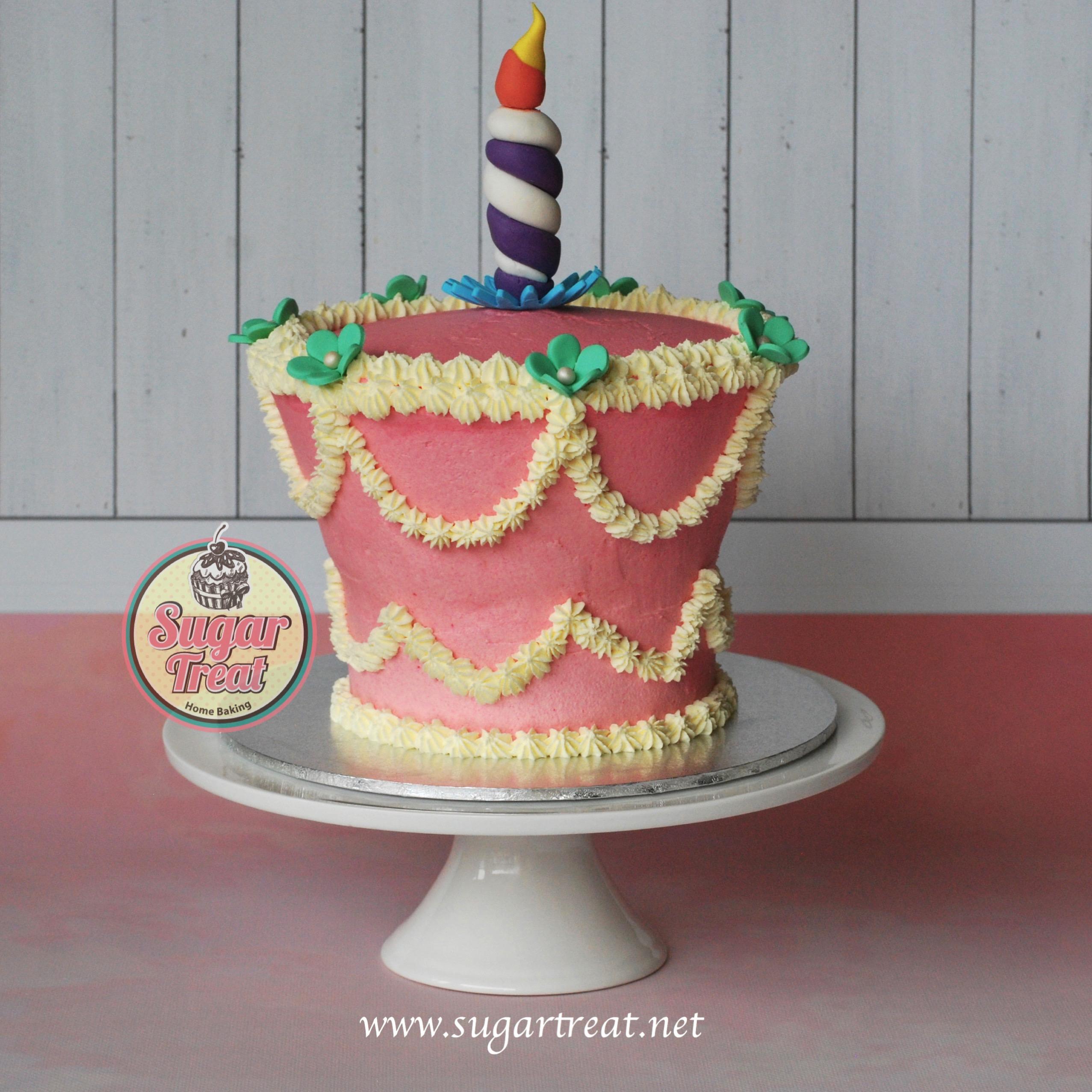 Alice in Wonderland Unbirthday Cake Alice in