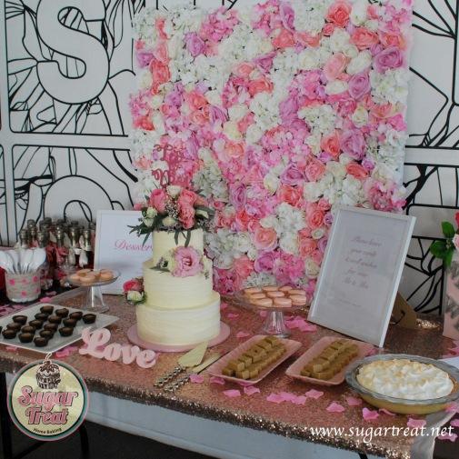 Dessert table pink 2