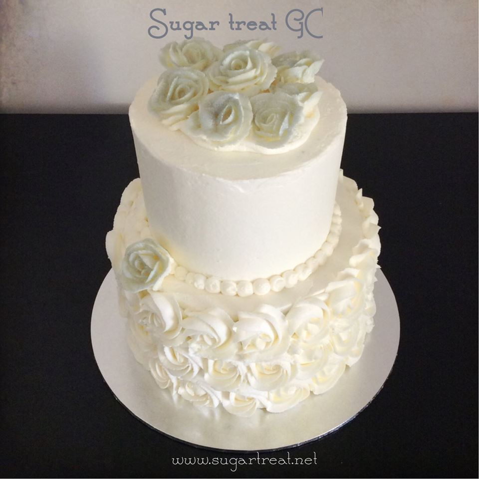 The 2016 Wedding Cake Challenge – Sugar Treat – Home Baking on the ...