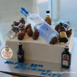 Boozy Cake