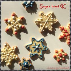 Snowflakes sugar cookies (from $3.50 each)