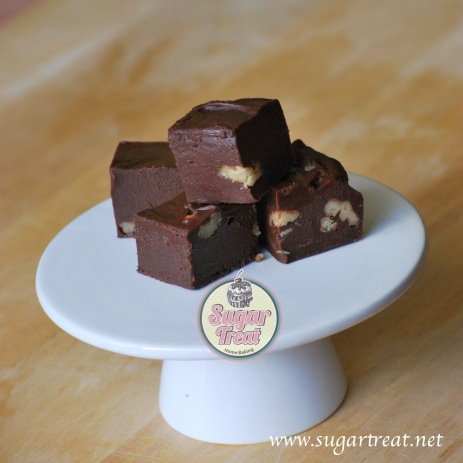 Chocolate Fudge ($30 for 48 pieces)