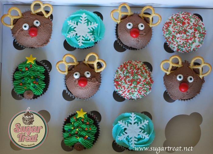 Christmas Cupcakes mix