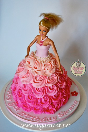 Barbie Doll Pink Ombre