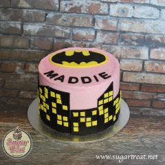 Batman Girl pink