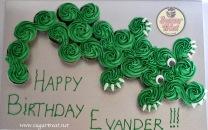 Crocodile Cupcakes pull appart