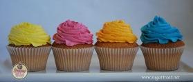 Cupcakes princess colour