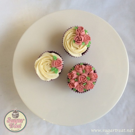 Cupcakes russian trio