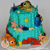 Nemo and Dory Sea cake