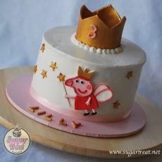 Peppa pig crown