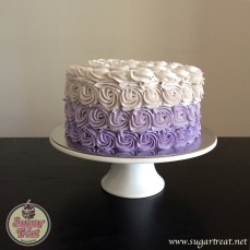 Swirls purple ombre