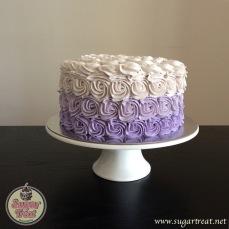 Swirls purple ombre