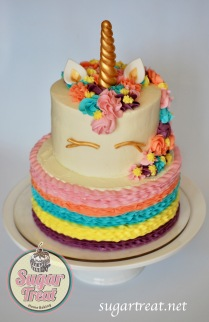 Unicorn 2 tier rainbow