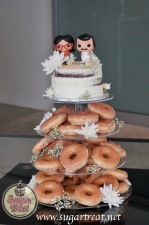 Wedding Donut tower